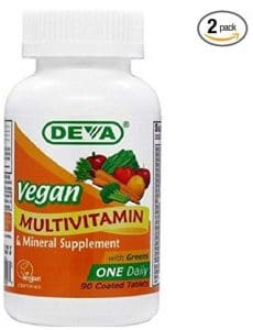 Deva Vegan Vitamins vegan multivitamins