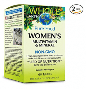 whole earth vegan multivitamins