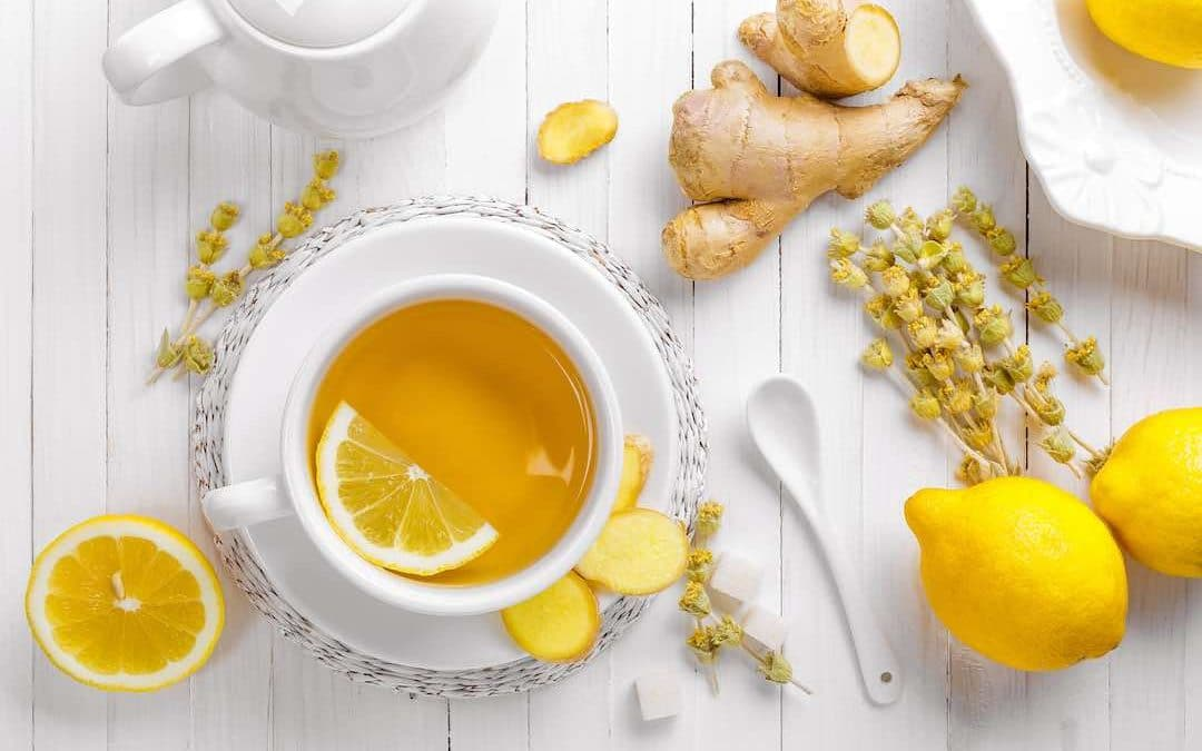 healing properties of ginger tea