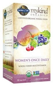 Garden of Life vegan multivitamins