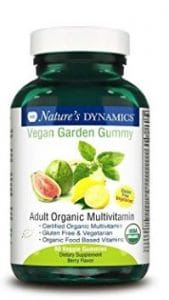 Nature's Dynamics vegan multivitamins