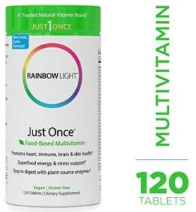 Rainbow Light vegan multivitamins