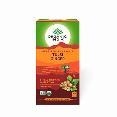 Organic India Ginger Tulsi Tea