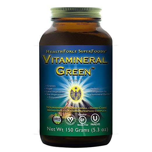 HealthForce SuperFoods Vitamineral Green 150 Grams Powder