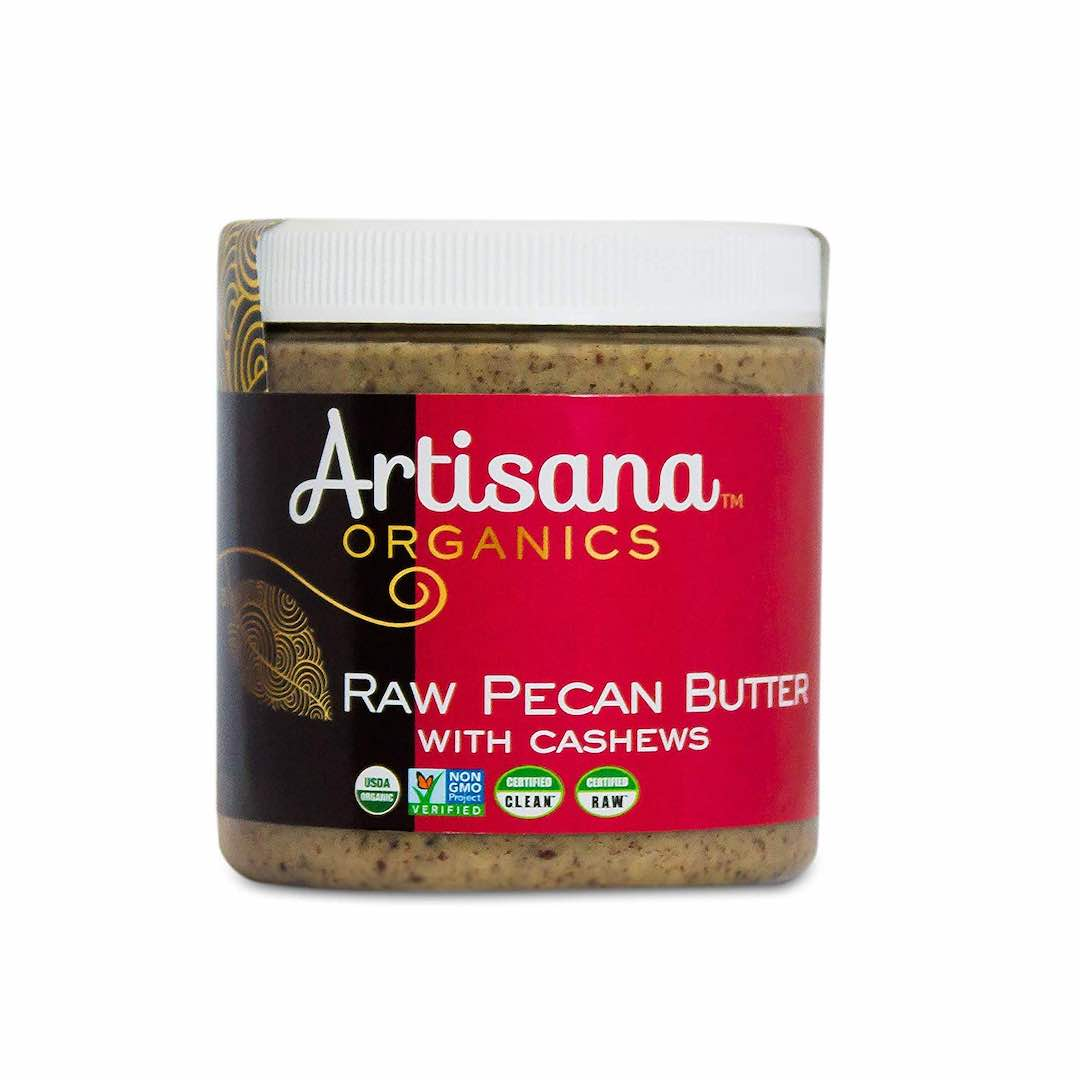 Artisana Organics Raw Pecan Butter with Cashews, 8 oz