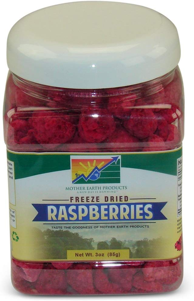 Mother Earth Products Freeze Dried Raspberries